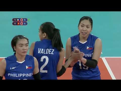 SEA Games 2019: PHL VS VIE Volleyball Women's Opener (Full) | Volleyball