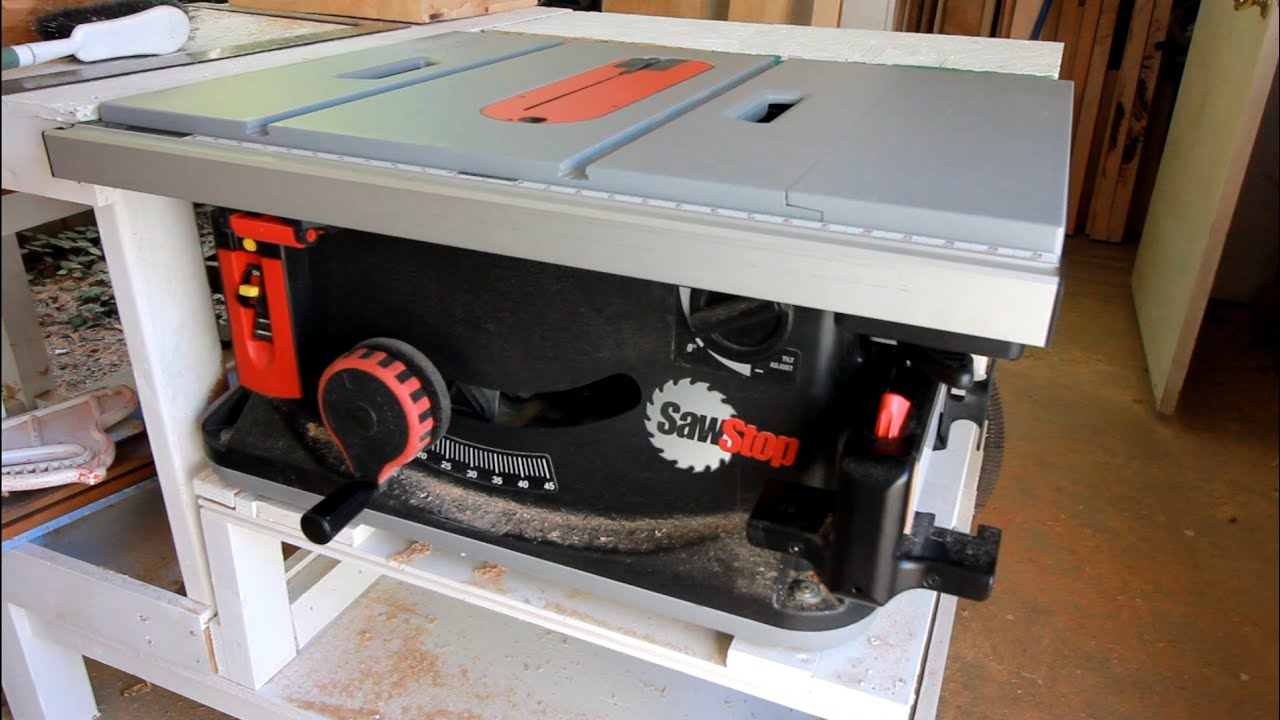 Sawstop Youtube Images Of Home Design Wiring Diagram Unboxing Table Saw Shop Update July 2016