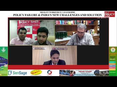 Migrant Workforce Catastrophe Policy Failure & India's new Challenges and solution