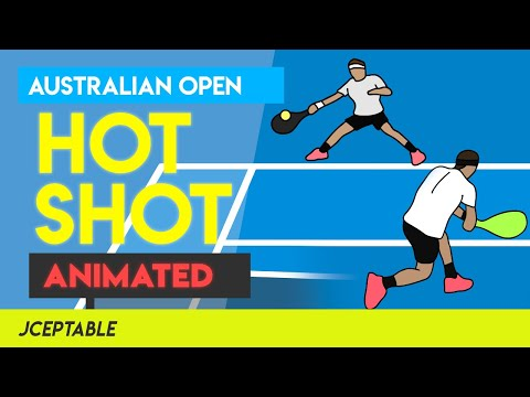 I animated Federer v Nadal's 26 Shot Rally! This took 50+ hrs