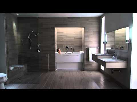 Kohler Plumbing Videos   Elevance  Rising Wall Bath