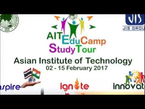 14 Days Training at Asian institute of Technology , Bangkok