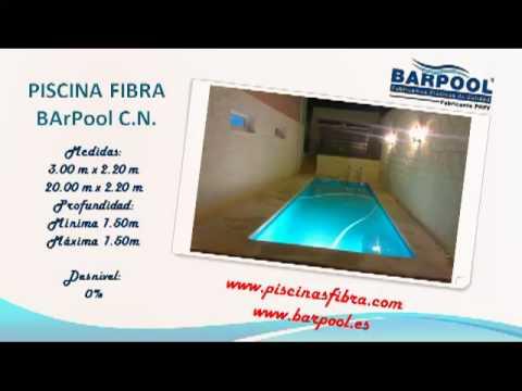 Piscinas prefabricadas catalogo barpool piscinas fibra for Piscinas prefabricadas