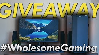 #WholesomeGaming PC Giveaway! OzTalksHW Style (Closed) | OzTalksHW