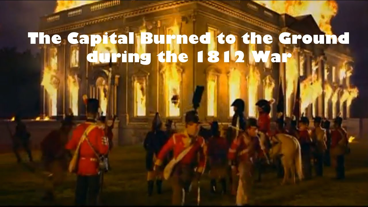 The War Of 1812 Washington Dc Is Burned To The Ground Tornato