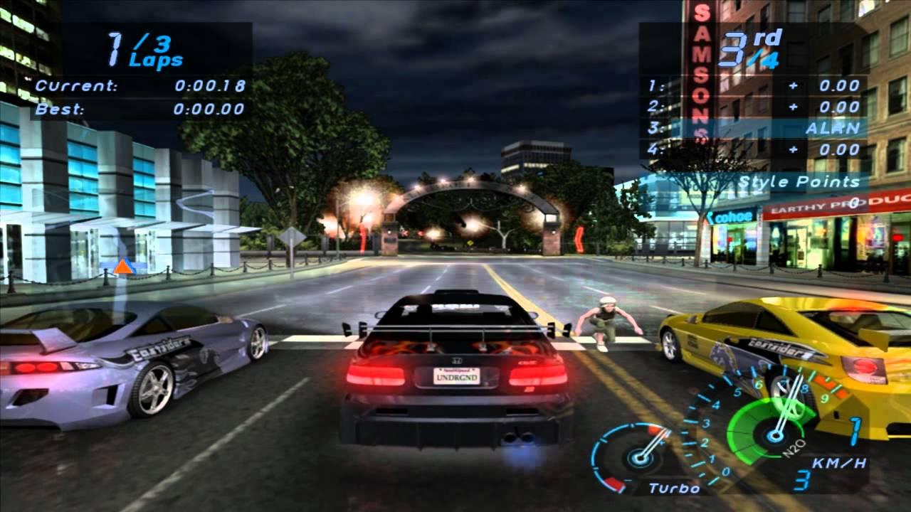 Need For Speed Underground Race 91 Eddies Posse