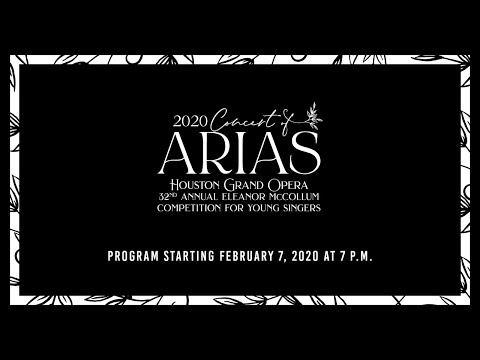 2020 Concert of Arias Live Stream