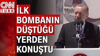 Cumhurbaşkanı Erdoğan \Kimse bu şanlı mücadeleyi önemsizleştiremez\ 15 Temmuz konuşması