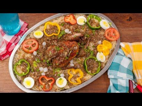 vermicelles-au-poulet-sénégal-/-vermicelles-à-la-vapeur