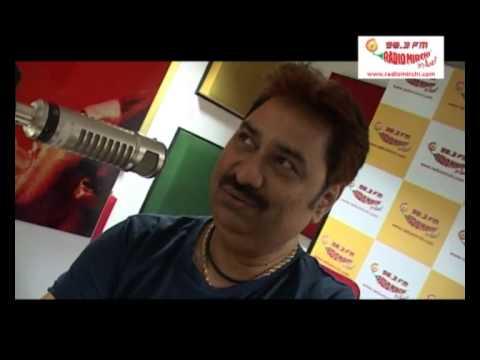 Kumar Sanu in Radio Mirchi Kolkata Studios!