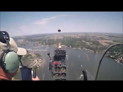 2017 06-09 IASAR 1952 Bell 47G Local over Geist Res