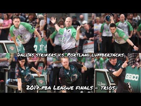 Make 2017 PBA League Finals, Trios - Dallas Strikers V.S. Portland Lumberjacks Pics