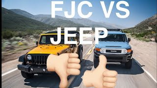 The reason I chose an FJC over a jeep. (My personal opinion)