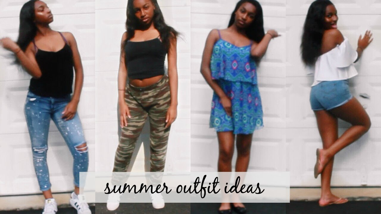 Summer Outfit Ideas 2017! | Coco Chinelo 9