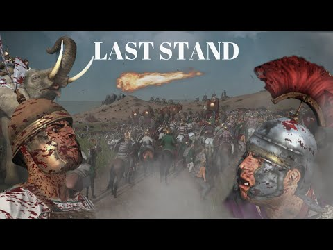 LAST STAND | TOTAL WAR: ROME 2 CINEMATIC BATTLE |