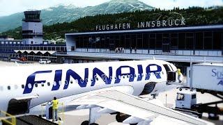 FSX 2016 - Landing Helsinki Aerosoft Mega Airport Realistic Graphics [HD]