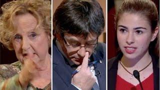 2 mujeres sin miedo se enfrentan a puigdemont y al público en tv3
