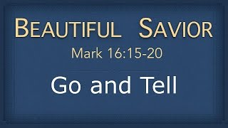 Video Bible Study - Mark 16:15-20 (Go and Tell) download MP3, 3GP, MP4, WEBM, AVI, FLV November 2018