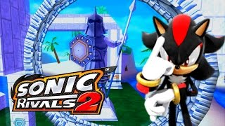 Sonic Rivals 2 - Blue Coast Zone Act 3 - Shadow [1080p]
