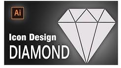 illustrator diamond shape how to draw a diamond icon in illustrator