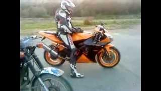 cuvanie motorky nazaver normalne že ma aj R