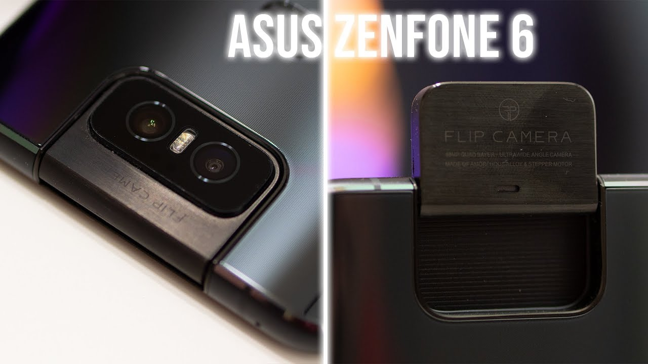 Asus Zenfone 6: $499, stock Android+, and a motorized flip camera!