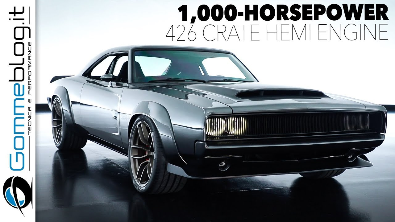 Dodge Super Charger 1000 Hp Hellephant 426 Hemi Engine Details
