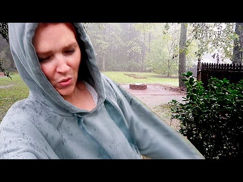 Hurricane Florence arrives