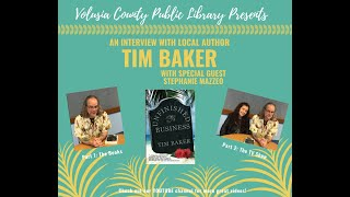 An Interview with local author Tim Baker - Part 1