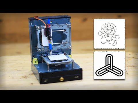 How To Make Arduino Mini CNC Plotter Machine