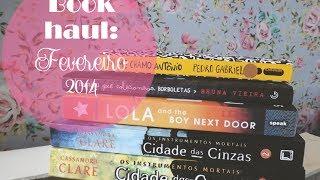 Book Haul: Fevereiro 2014