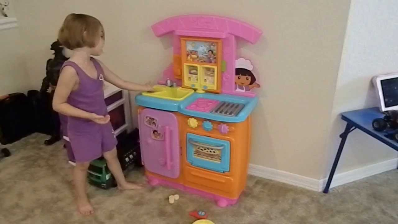Dorau0027s Fiesta Kitchen Toy Review   YouTube