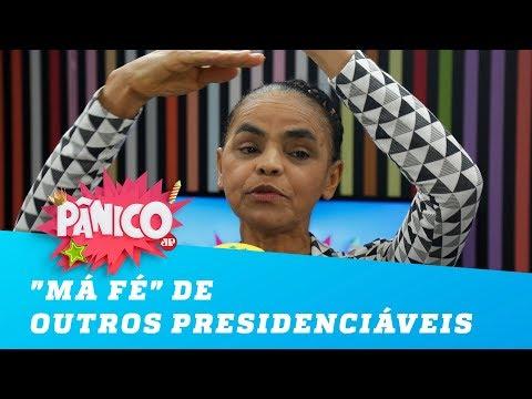 "Marina denuncia ""má fé"" de outros presidenciáveis"