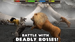 ULTIMATE LION SIMULATOR - BATTLE WITH DEADLY BOSSES- Compatible with iPhone, iPad, and iPod touch.
