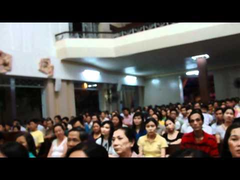 Thánh Lễ của Cha Long tối 23.7.2011 - Nhà Thờ Hòa Hưng,Sài Gòn