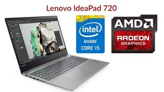 Обзор на Lenovo Ideapad 720, почти игровой