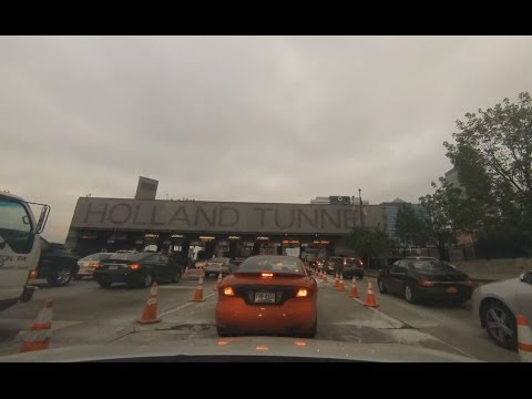 Holland Tunnel in a minute (Time Lapse/Stop Motion)