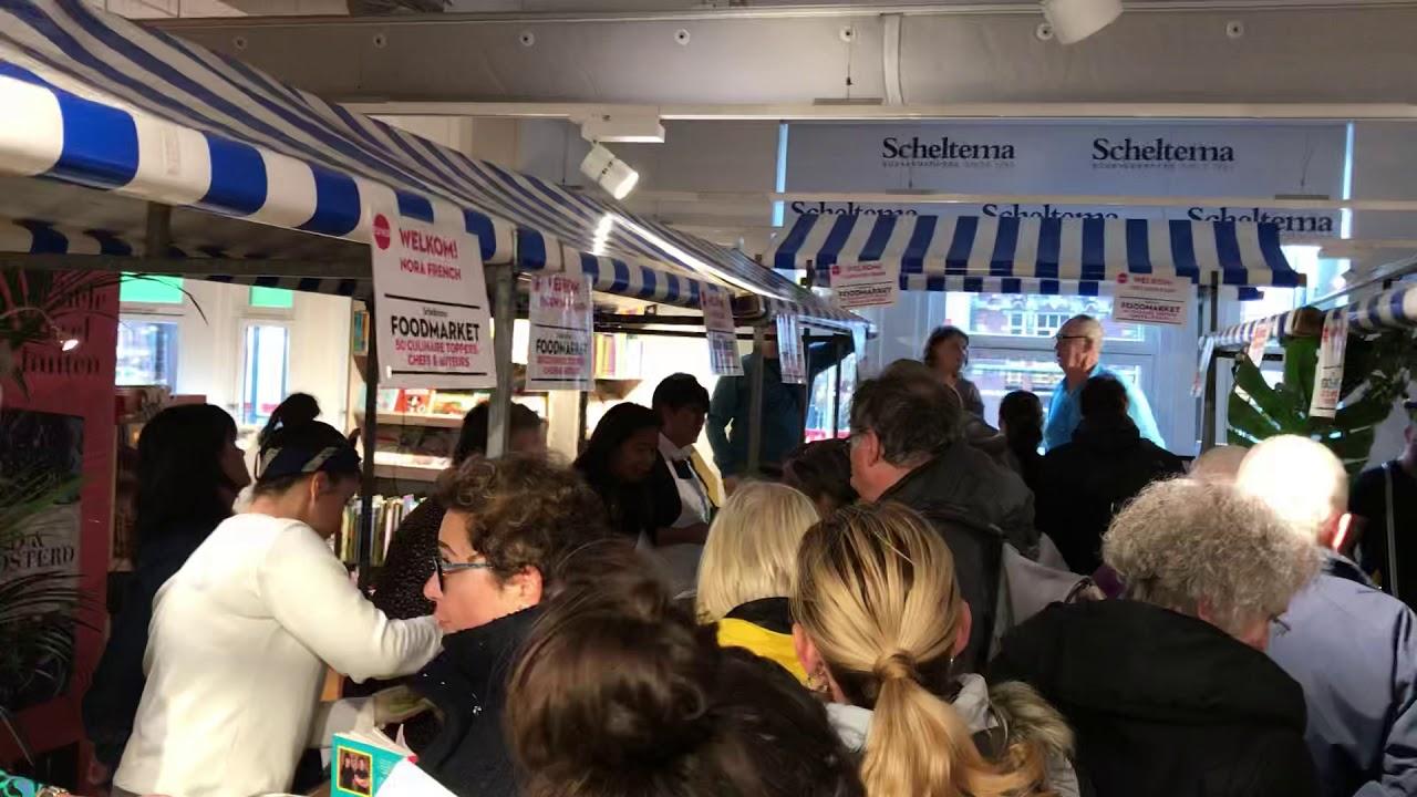 Foodmarket Bij Boekenwinkel Scheltema Met Michelinster Kok