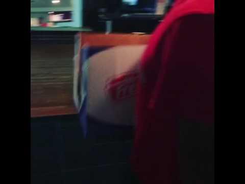 B.O.A.B. Banq Of America Boyz (Pharoah Marada) Brings In A Box Of Food To The Studio