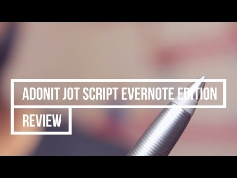 Review | Adonit Jot Script Evernote Edition