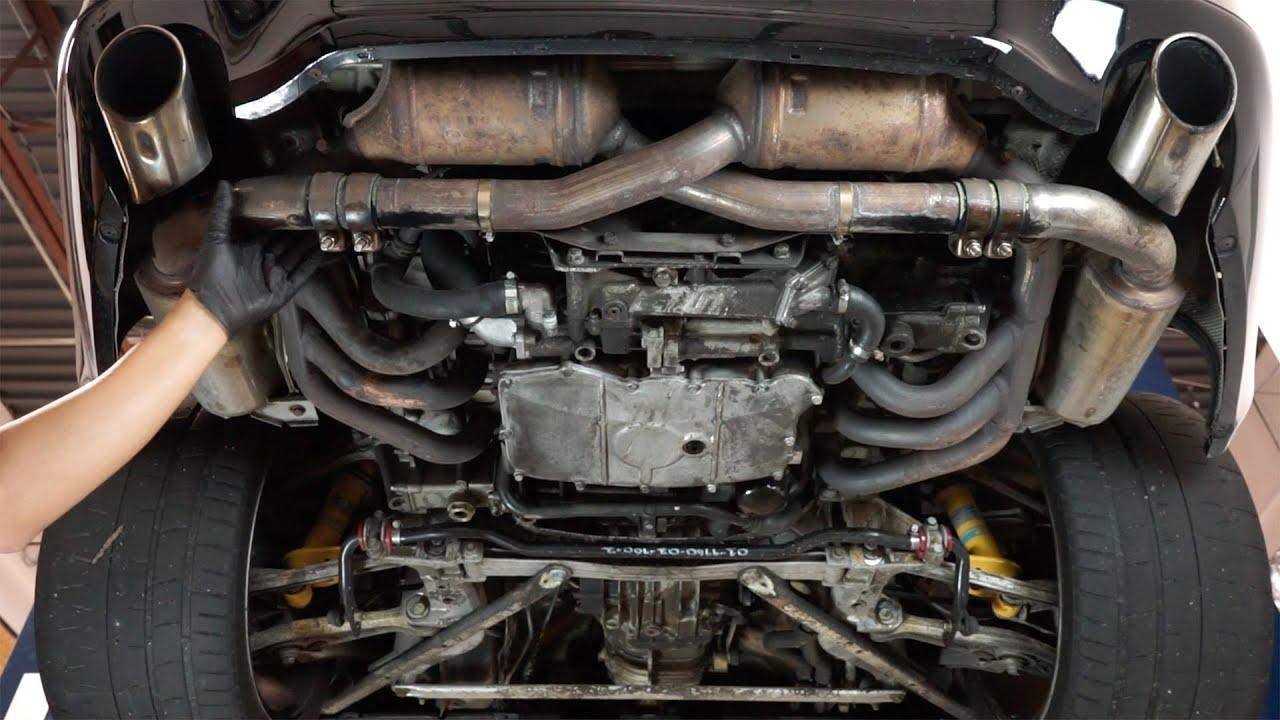 pca spotlight installing porsche 996 carrera oem sport exhaust replacing coil packs spark plugs