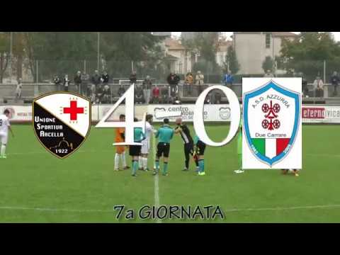 Arcella-Azzurra Due Carrare 4-0 / highlights e interviste (22/10/2017)