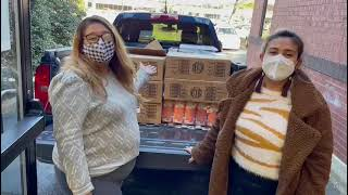 Food Distribution to Hampshire Avenue