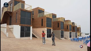 Meet The Ghanaian Rich Man Who Has Used Metal Containers To Build 2-bedroom Apartments In Accra
