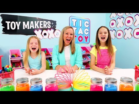 Watch Tic Tac Toy's New Channel Series #ToyMakersXOXO!