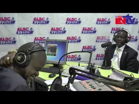 THE BUMPER SHOW JUNE 27,2016 EDITION- play host to Amb. Jeremiah Solunteh
