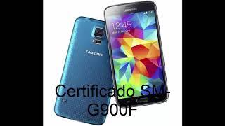 Certificado S5 Grande SM-G900F (Link de descarga) Z3X Box