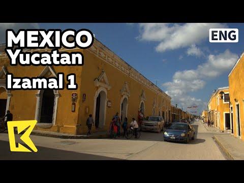 【K】Mexico Travel-Yucatan[멕시코 여행-유카탄]노란빛 마야의 고대도시, 이사말/Izamal 1/Maya/Ancient City