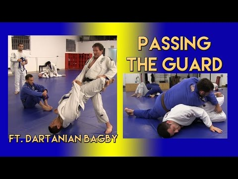 Dartanian Bagby Teaches How To Pass The Guard