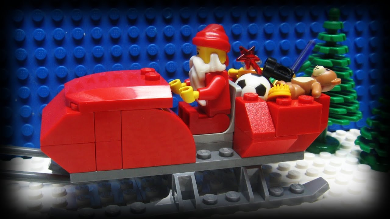 Nice Lego Christmas 2012   YouTube